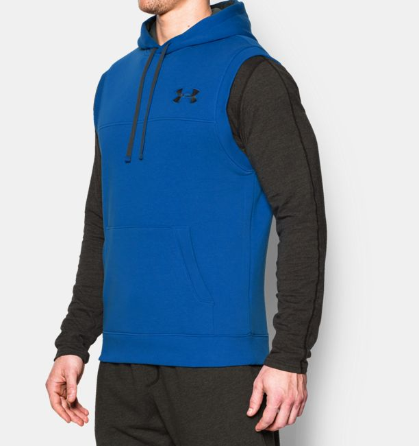 Under Armour Rival Fleece Sleeveless - Mens - Anderson and Hill ...
